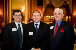 L&Q's Finest, continued: David Franckowiak, Executive  Committee member Bill Razzino, and past president Larry Sullivan.