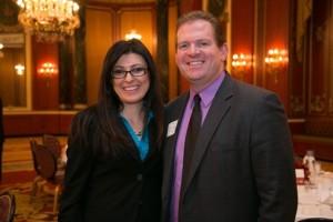 Board members Katarina Babic and Paul Nockels