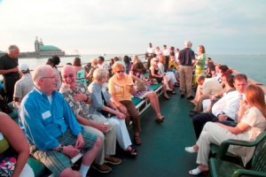 Topside, L&Q's 2009 lake cruise