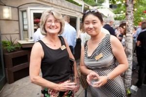 Professor Nancy Hill with L&Q Board member Prof. Hui Lin