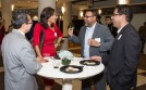 """Guests gather in the DePaul Center Tuesday, Nov. 17, 2015, as the Driehaus College of Business hosted a fireside chat entitled, """"Business and Business School Diversity"""". (DePaul University/Jamie Moncrief)"""